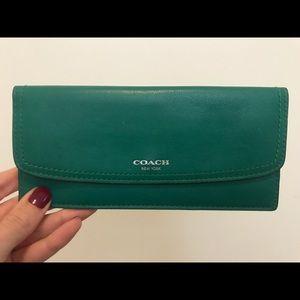Thin Coach Wallet